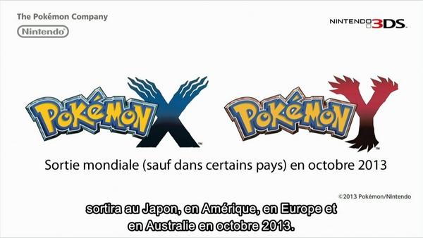 La 6 me g n ration pok mon d barque - Pokemon 6eme generation ...