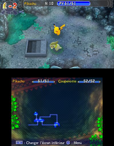 Mise jour du site donjon myst re les portes de l - Pokemon donjon mystere les portes de l infini ...