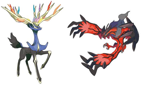 Pok mon x et pok mon y les types des starters r v l s pok - Image pokemon legendaire ...