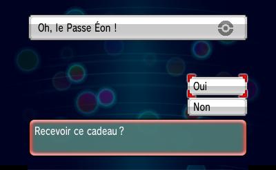Cadeau Mystère Pokemon Saphir Alpha Sujet Concours Eje