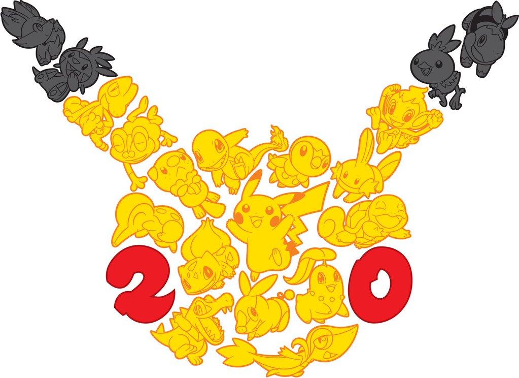 News3510 Pokemon20 Encore Plus Pour Les 20 Ans De Pokemon