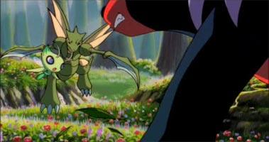 pokemon celebi la voix de la foret
