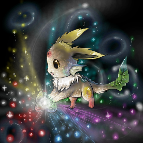 Espace membre galerie de lucaraura - Famille evoli pokemon ...