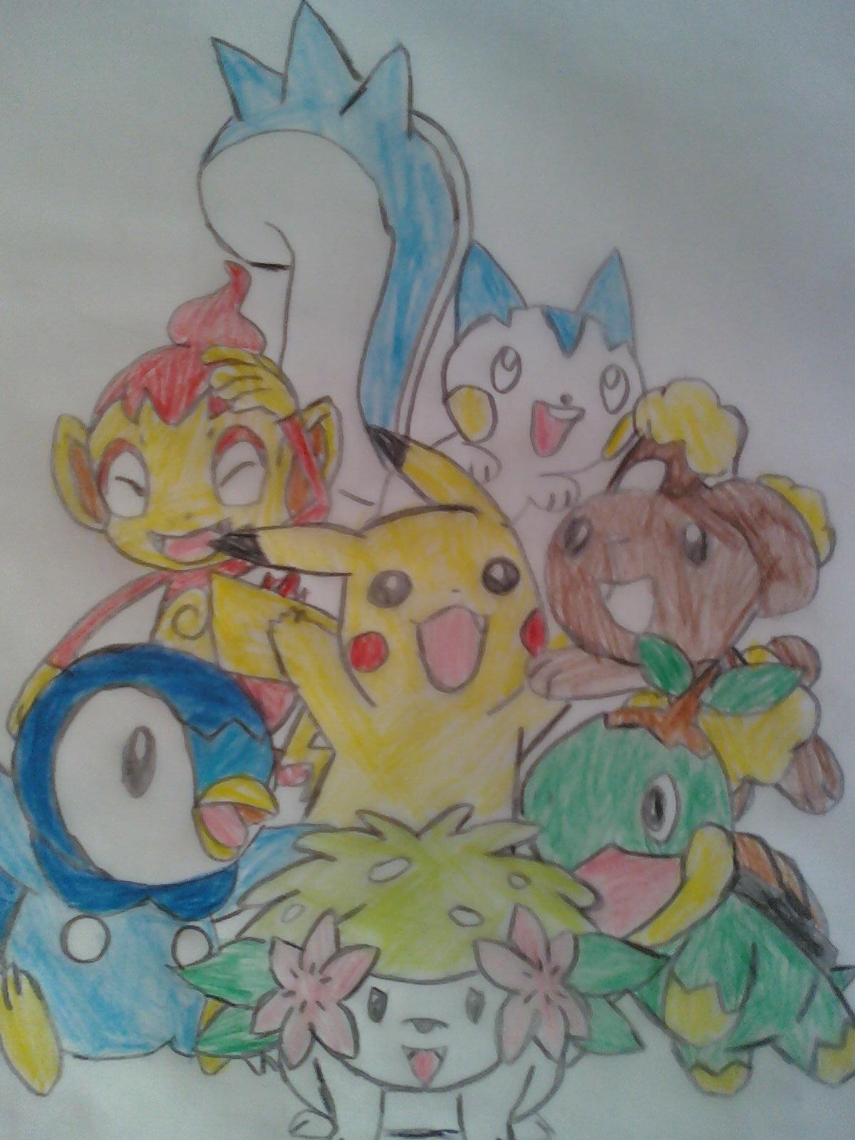 Espace membre galerie de brasegalii - Dessin pokemon couleur ...