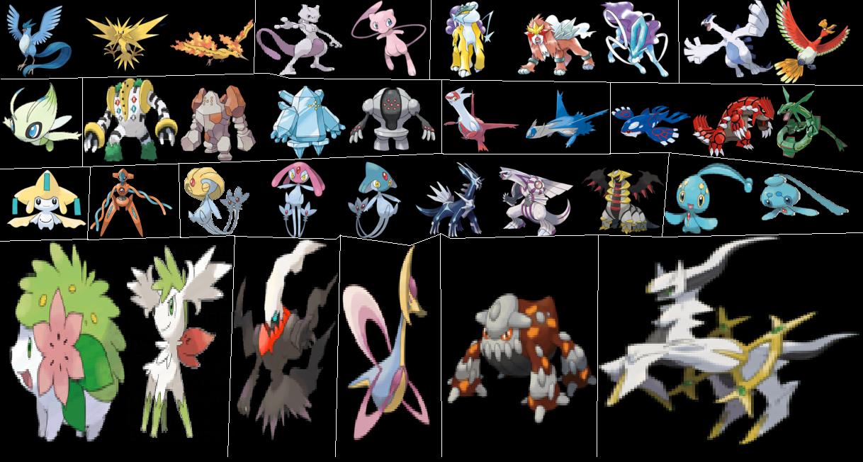 Espace membre cr ation les pokemon legendaire - Pokemon legendaire blanc 2 ...