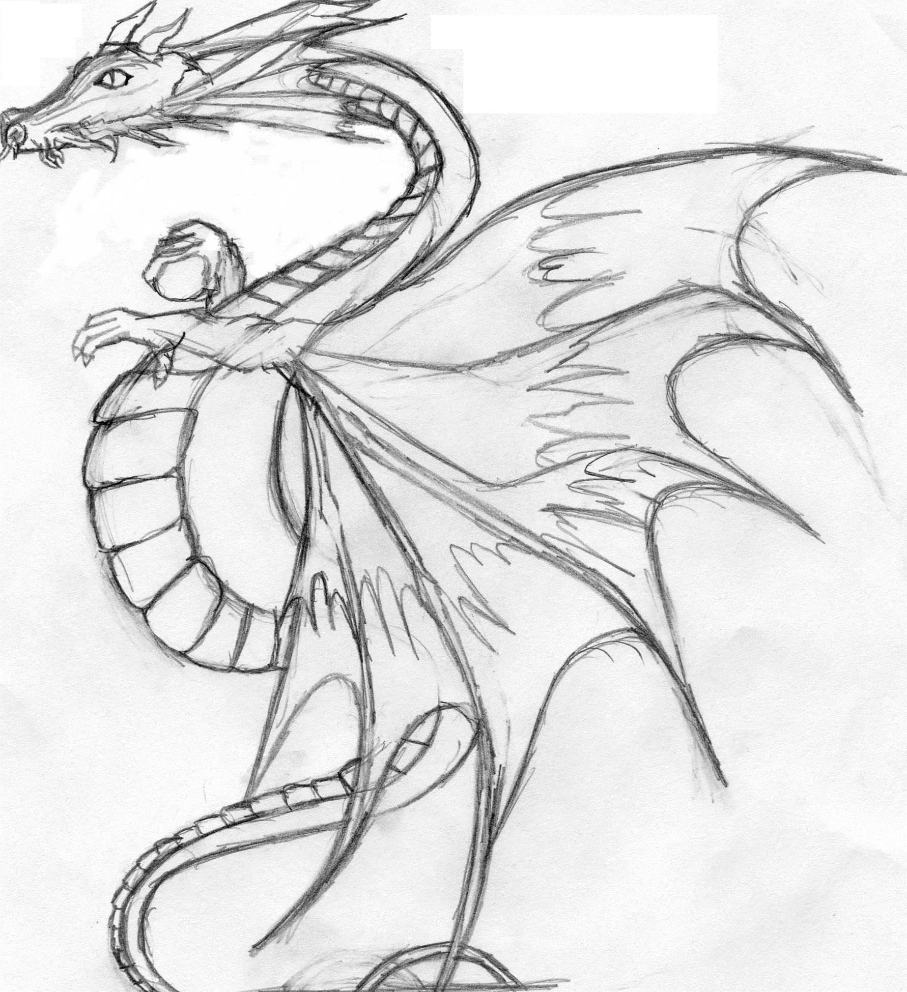 Espace membre galerie de gen77 - Dessiner dragon ...