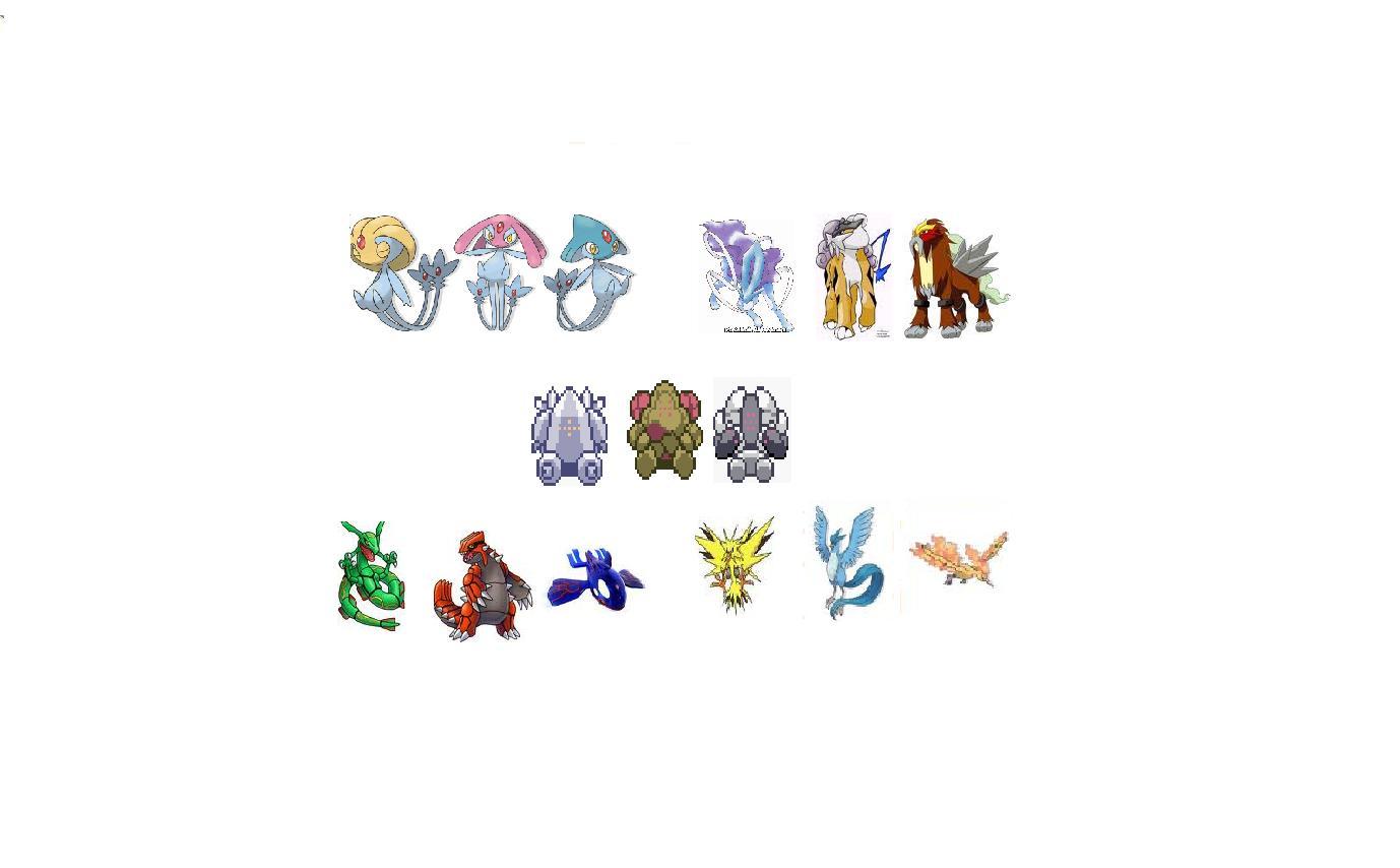 Espace membre galerie de junkias - Pokemon legendaire ...