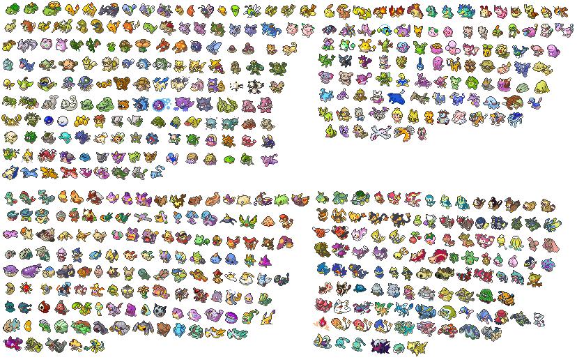 Dessin Pixel Pokemon Legendaire