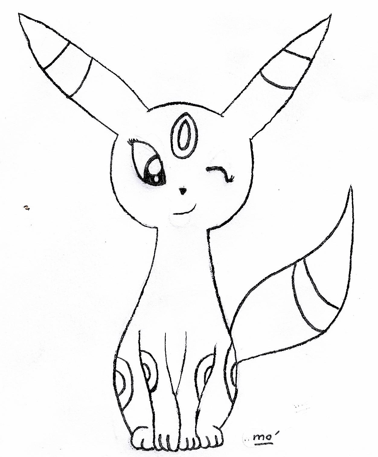 Espace membre galerie de minitito - Dessin pokemon facile ...