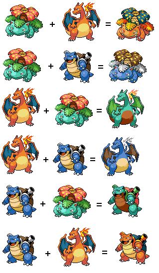 Espace membre cr ation recoloration florizarre - Evolution pokemon noir 2 ...