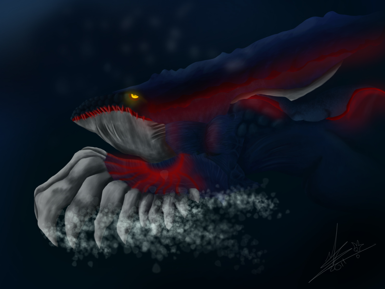 Comment dessiner kyogre - Legendaire shiney ...