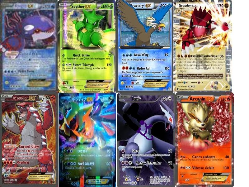 Espace membre cr ation carte pokemon ex cree - Tout les carte pokemon ex ...