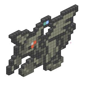 Pixel Art Zekrom