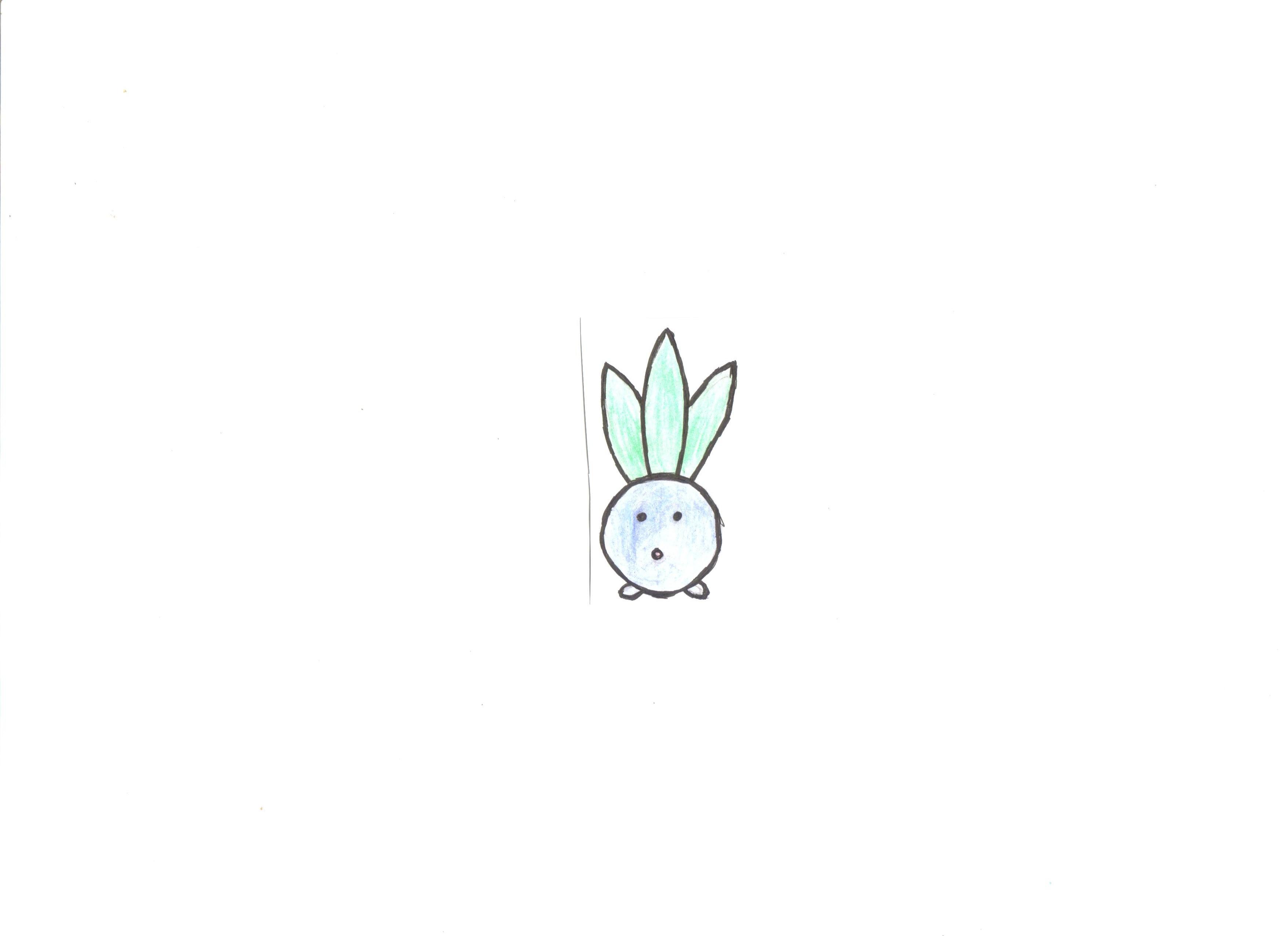 voil jai dcid de me mettre au dessin alors jai commenc par un pokmon facile comme mysthrbe je trouve juste les feuilles un peu rat mais javais
