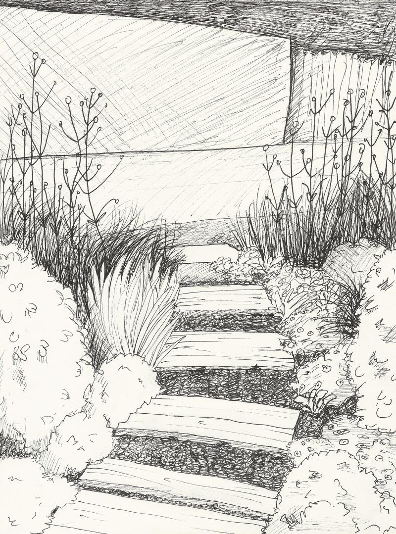 Espace membre recherche des images associ es au mot cl for Croquis jardin