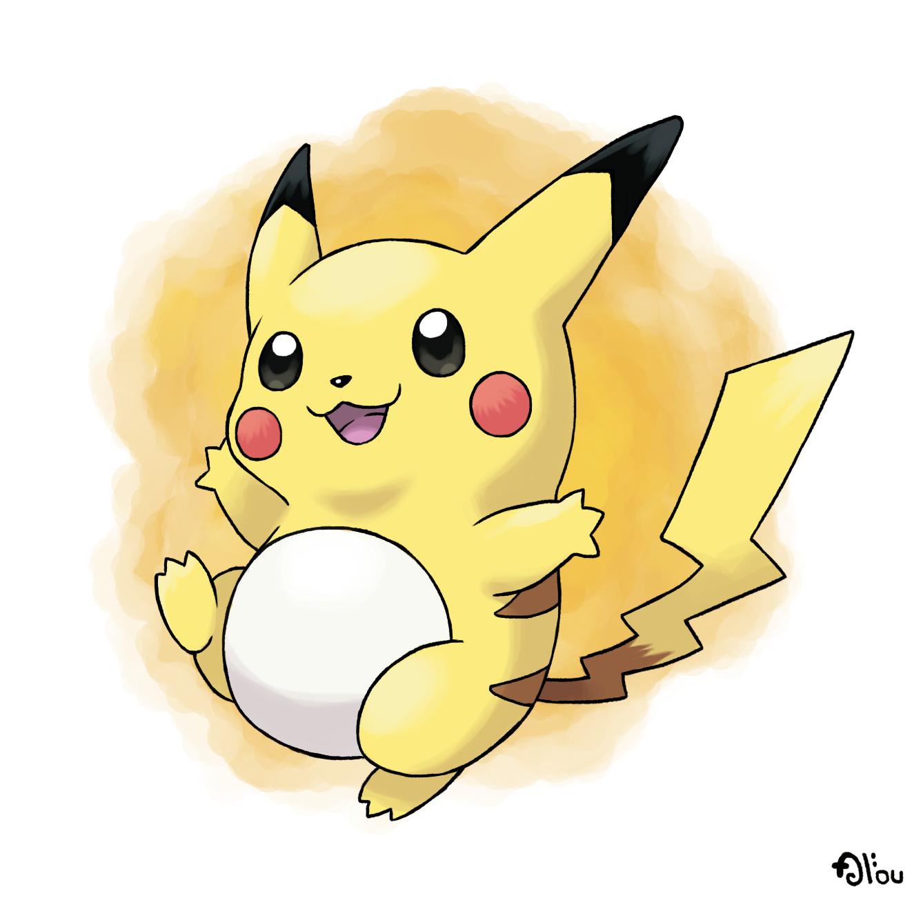 Dessin De Pokémon Mignon En Couleur
