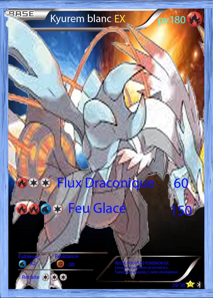Espace membre galerie de poke360 - Carte pokemon kyurem blanc ex ...