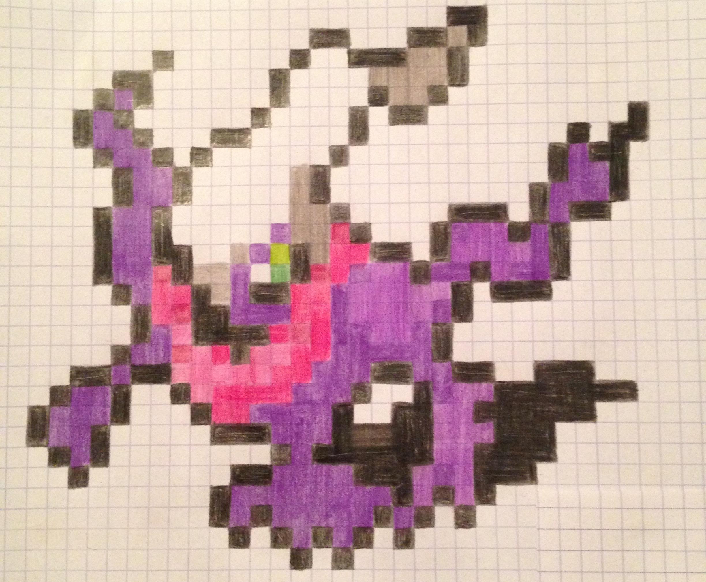 Dessin Pixel Pokemon