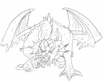 Espace membre cr ation dessin d 39 un dragon - Dessin d un dragon ...