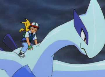 Capture d'écran du film Pokémon 2