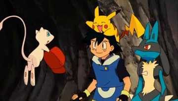 Capture d'écran du film Pokémon 8