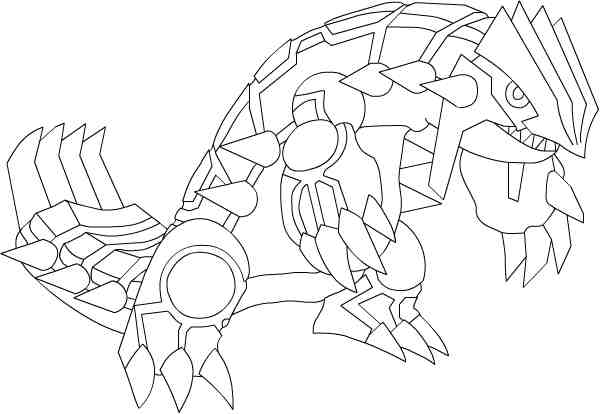 Virus Groudon Coloring Pages Coloring Pages Vires Coloring Pages
