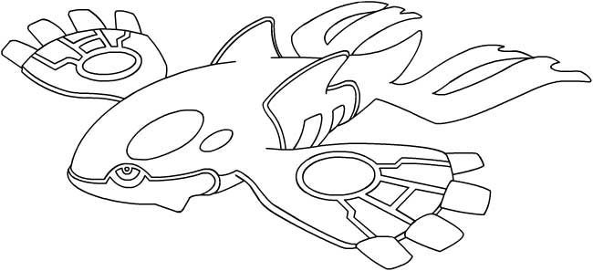 Dessins faciles pok - Coloriage pokemon rayquaza ...
