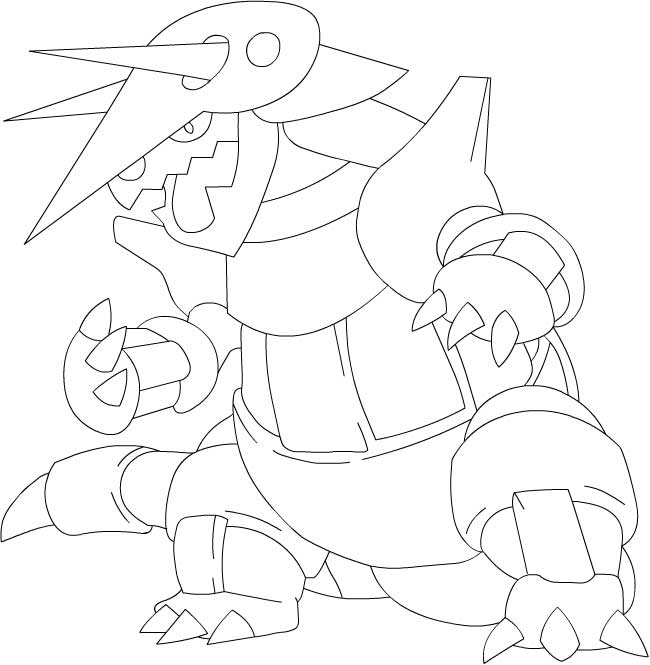 Dessins faciles sur pok bip - Coloriage pokemon kyogre ...