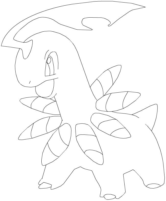 modele dessin pokemon