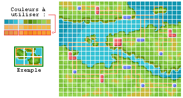 Tutoriel Pixel Art Realiser Des Mini Maps Dp Pokebip Com