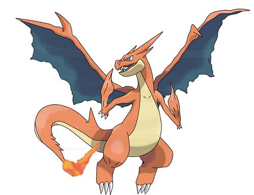 Image Pokemon Mega Dracaufeu