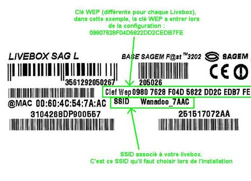 Code wap pour wifi live box inventel sur imac forums - Comment augmenter la portee du wifi livebox ...