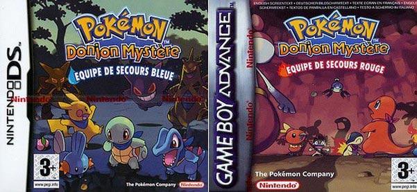rom pokemon donjon mystere equipe de secours rouge