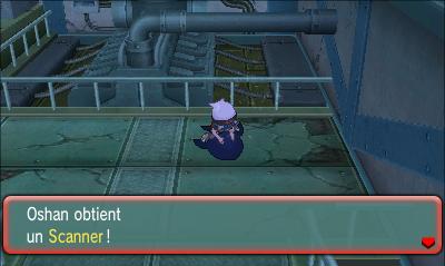 comment trouver le scanner dans pokemon saphir alpha