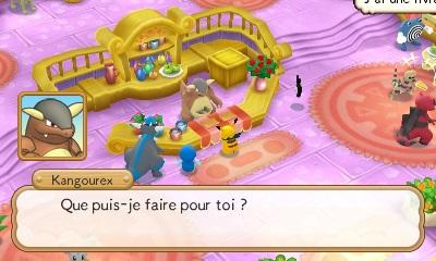 Pok mon m ga donjon myst re personnages lieux utiles - Pokemon mega kangourex ...