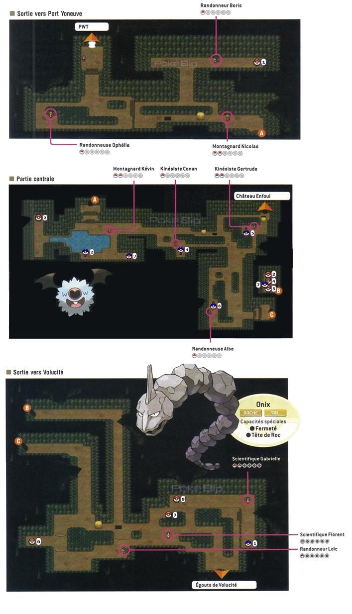 Pok mon noir 2 et blanc 2 guide complet d 39 unys sur - Evolution pokemon noir 2 ...