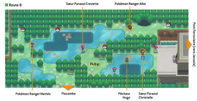 Pok mon noir et blanc guide des lieux route 8 pok - Pierre eau pokemon noir ...
