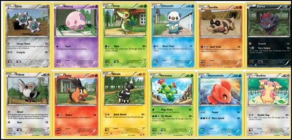 Mcdonald 39 s happy meal figurines et cartes pok mon - Coloriage carte pokemon ...