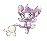 Fiche pok dex de capumain aipom eipam versions noire - Evolution flamajou ...