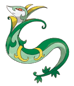 Fiche pok dex de majaspic serperior jalorda versions - Evolution flamajou ...