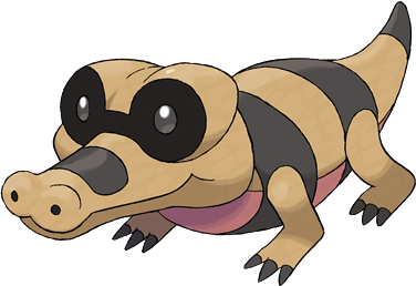 Fiche pok dex de mascaiman sandile meguroco versions - Evolution flamajou ...