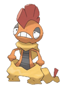 Fiche pok dex de baggaid scrafty zuruzukin versions - Evolution flamajou ...