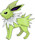 Fiche pok dex de voltali jolteon thunders versions diamant perle platine heartgold et - Evolution pokemon diamant ...